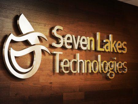 InteriorBusinessSign_SevenLakesTechnologies_Westlake_PremiumSignSolutions
