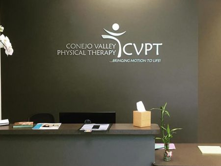 Lobby Sign, Conejo Valley Physical Therapy in Conejo Valley