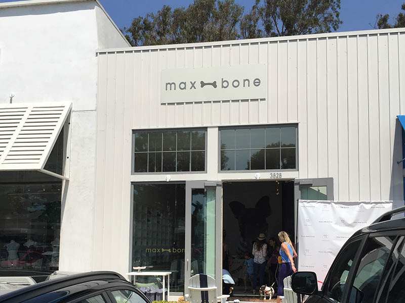 Business Sign, Max Bone in Malibu