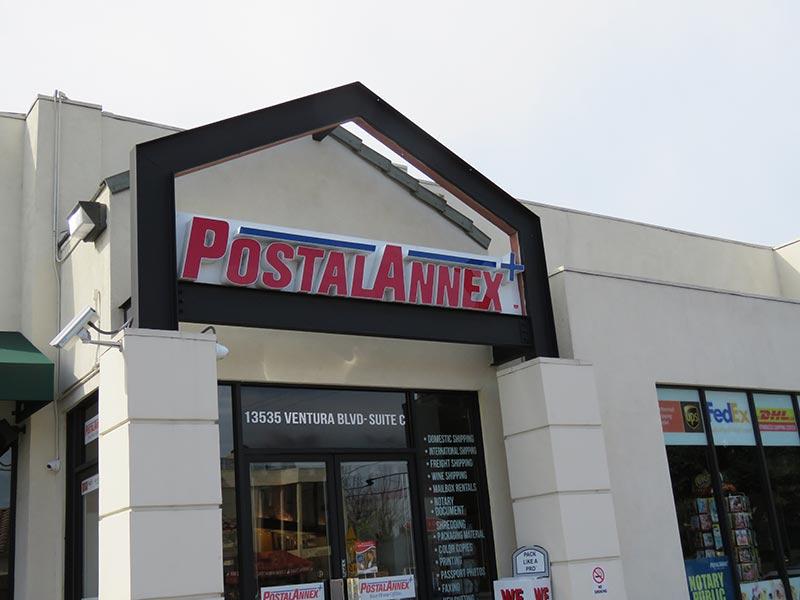 Channel Letters, Postal Annex in Sherman Oaks
