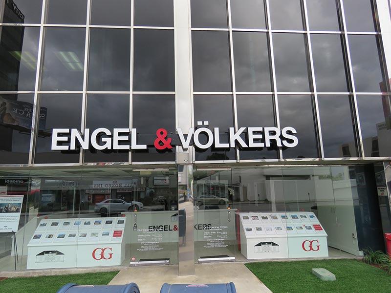 Channel Letters, Engel & Volkers in Encino