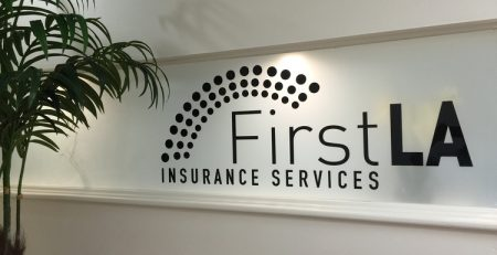 LobbySign_FirstLAInsurance_PremiumSignSolutions