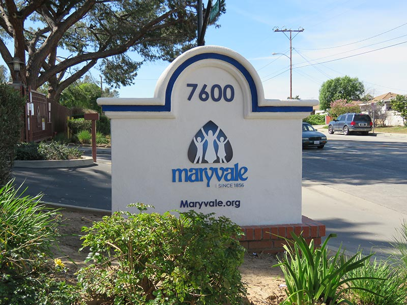 Monument Sign - Maryvale Church, Rosemead