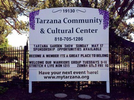 Monument Sign Tarzana