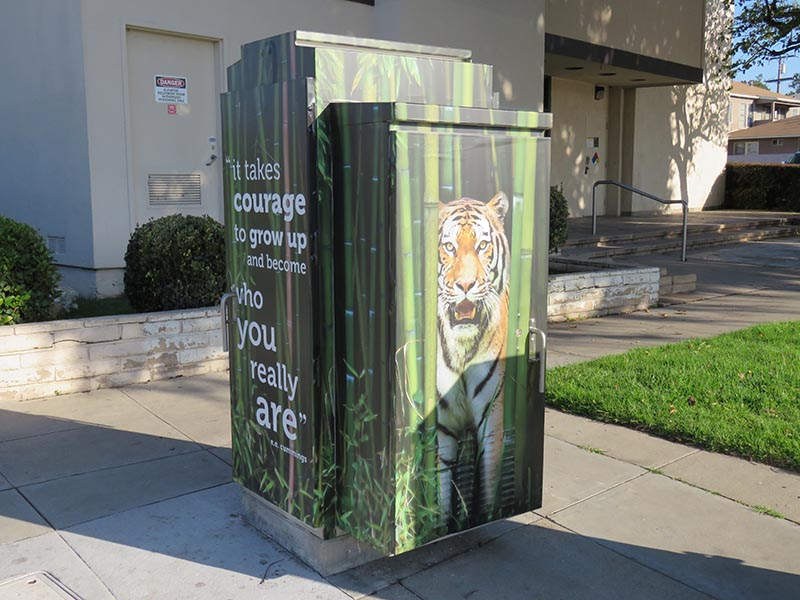 Utility Box Wrap, City of Santa Monica