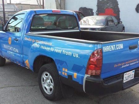 Vehicle Wrap, Invitation Homes