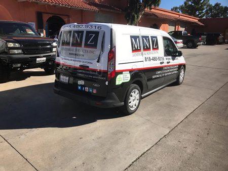 Vehicle Wrap, MNZ