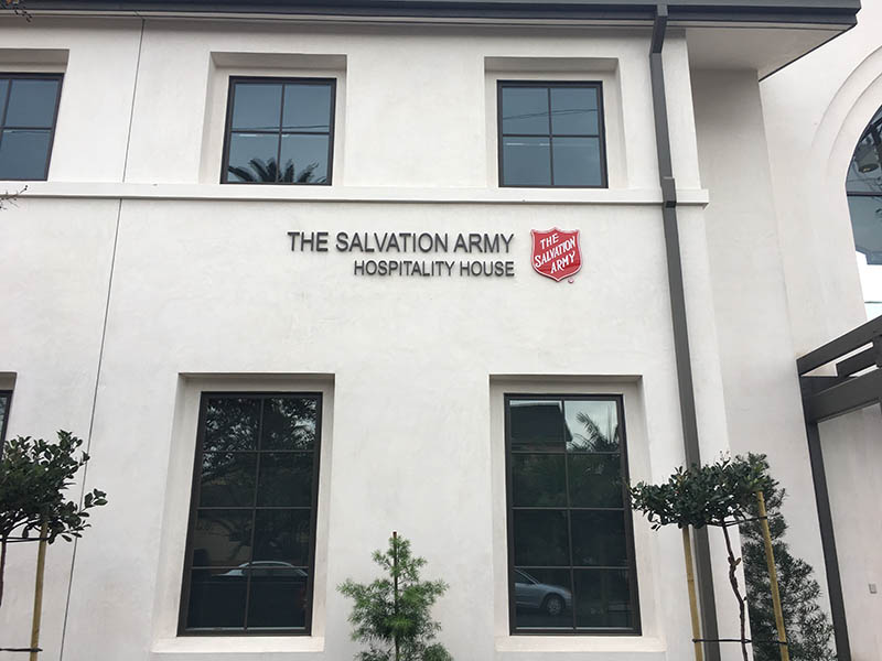 3D Letters, The Salvation Army in Orange County