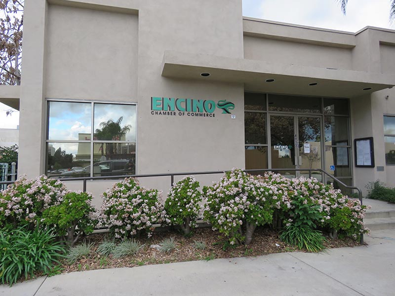 Custom Business Sign, The Encino Chamber of Commerce