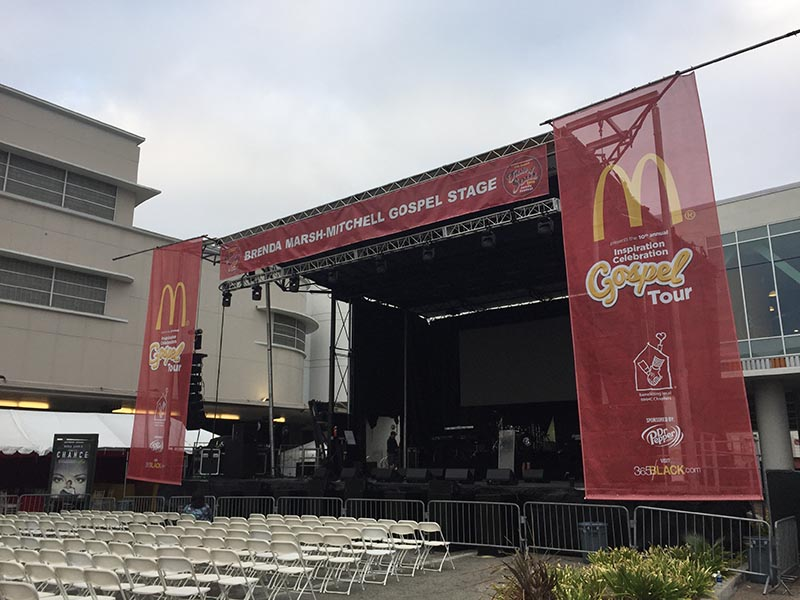 Custom Banner, Taste of Soul in Los Angeles