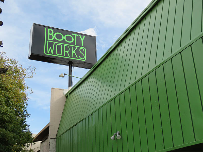 Pole Sign, Booty Works in Sherman Oaks