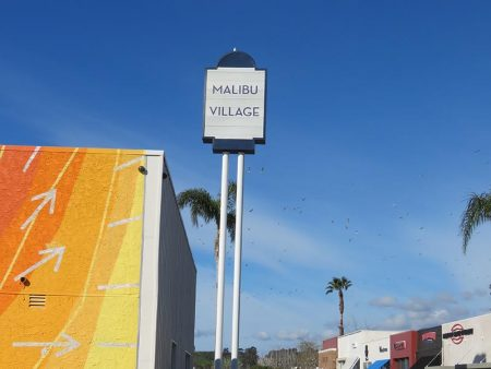 Pole Sign, Malibu Village