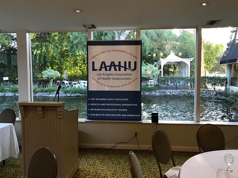 Retractable Banner, LAAHU