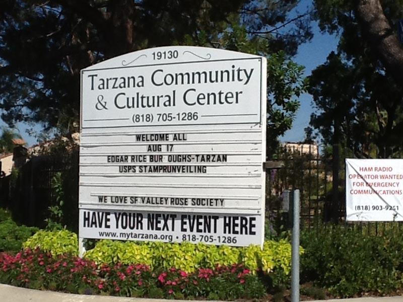 TarzanaCulturalSign_before