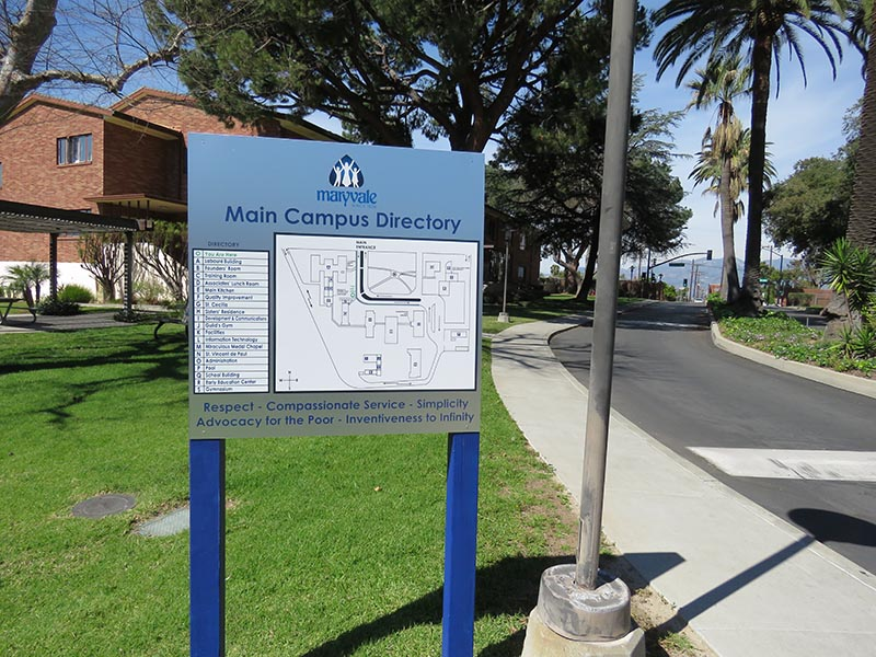Directory Sign, Maryvale in Rosemead