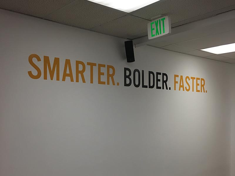 Wall Graphics, Peak Real Estate in Woodland Hills