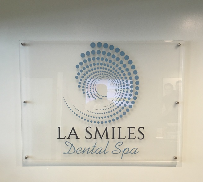 Lobby sign, acrylic sign, business sign, reception sign