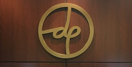 Lobby sign, dimensional letters, custom sign, aluminum sign, office sign, interior sign, business sign
