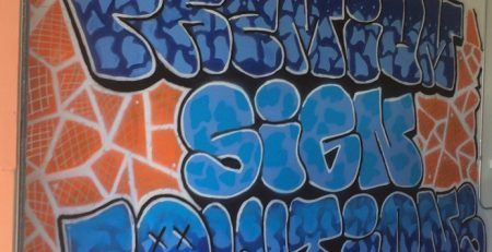 graffiti, wall art, painted mural, outdoor sign, painted sign, Los Angeles