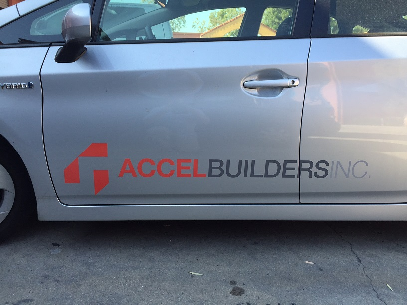 vehicle lettering, contractor vehicle graphics, contractor,