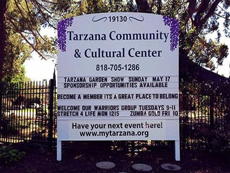 TarzanaCulturalCenter_MonumentSignPremiumSignSolutions