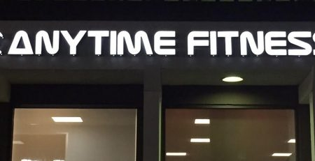 sign permits, sign installation, channel letters, anytime fitness, westlake village, outdoor signs