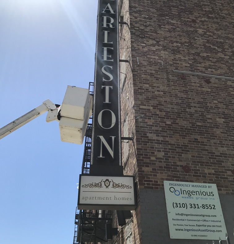 sign repair, electrical sign repair, channel letter repair, signs, sign makers, sign companies, apartment managers, asset managers, maintenance managers, encino