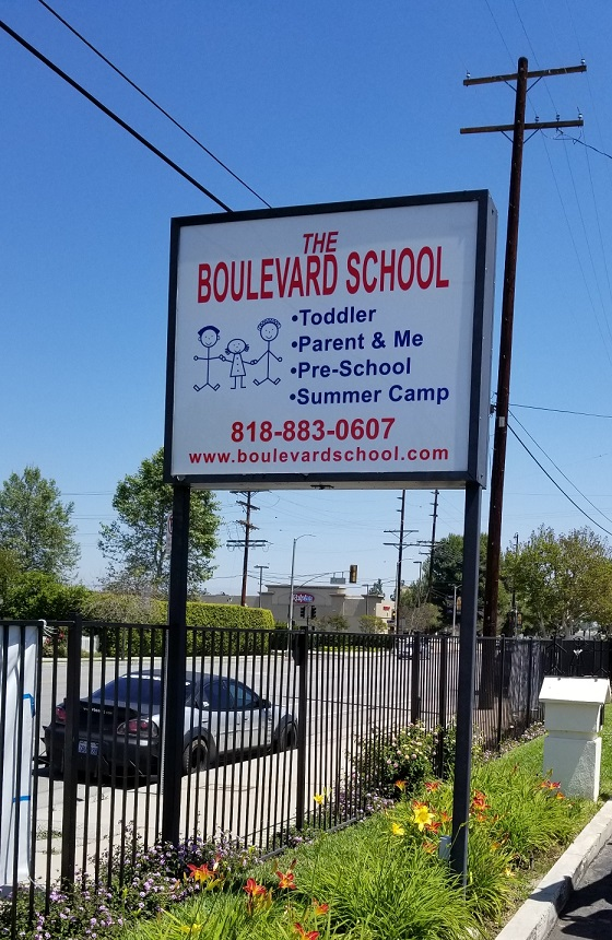 lexan, custom vinyl, lightbox inserts, box signs, outdoor signs, school signs, education signage, sign makers, sign companies, woodland hills, sign maker, sign company