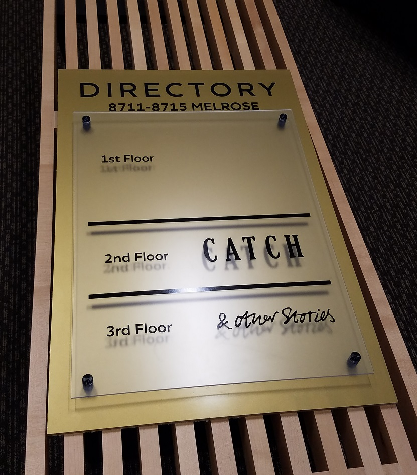 custom directories, one of a kind signs, office building sign, directorys, building directory, office directory, property manager, office manager, sign makers, sign company, tarzana, los angeles