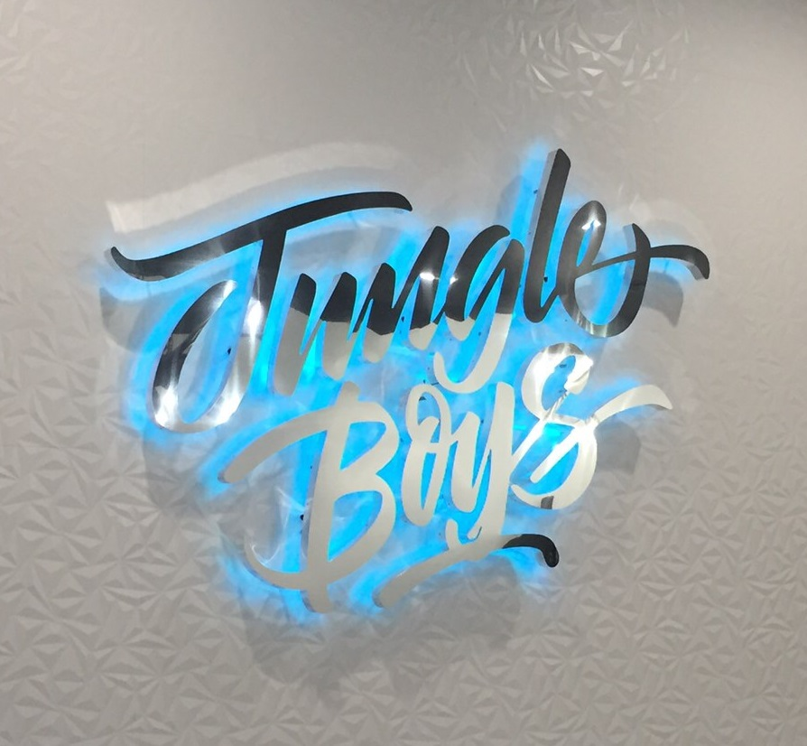brand logo signage, halo-lit signs, channel lettering, interior signs, lobby signs, custom signs, cannabis signage, unique signs, sign makers, sign companies, downtown los angeles, cannabis, sign maker, sign company
