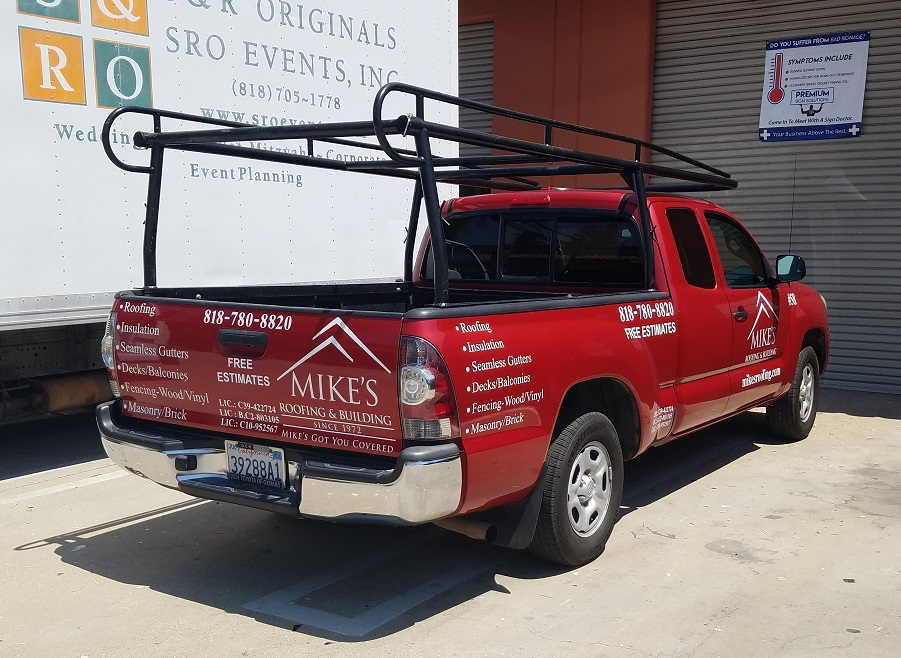 car graphics, vinyl lettering, vehicle lettering, car wraps, fleet wraps, sign companies, van nuys, vehicle graphics