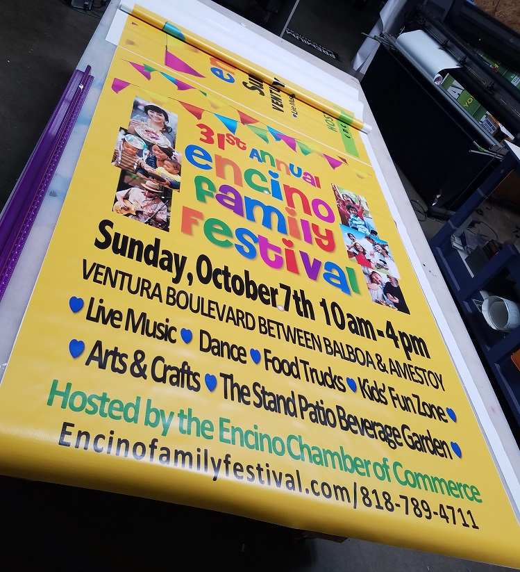 banners, outdoor banners, business banners, event signs, event banners, exterior signs, sign companies, encino, full color banner