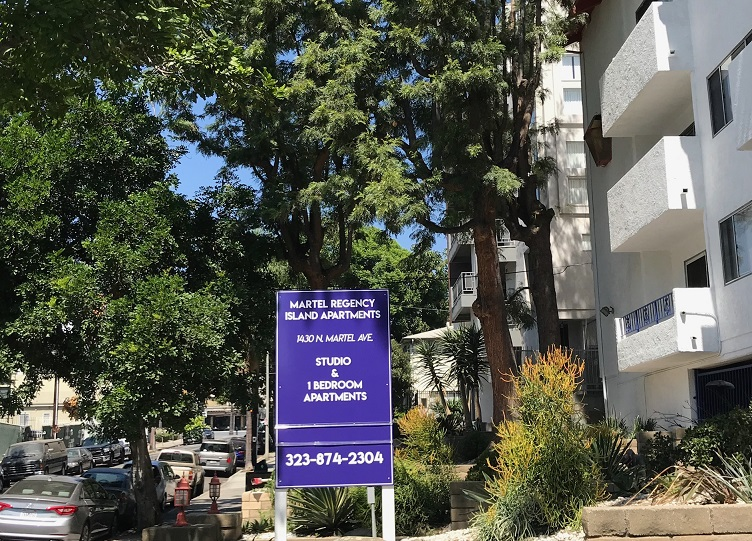 post and panel, post and panel sign, wood signs, now leasing signs, property manager, apartment signs, condominium signs, sign companies, exterior signs, Los Angeles