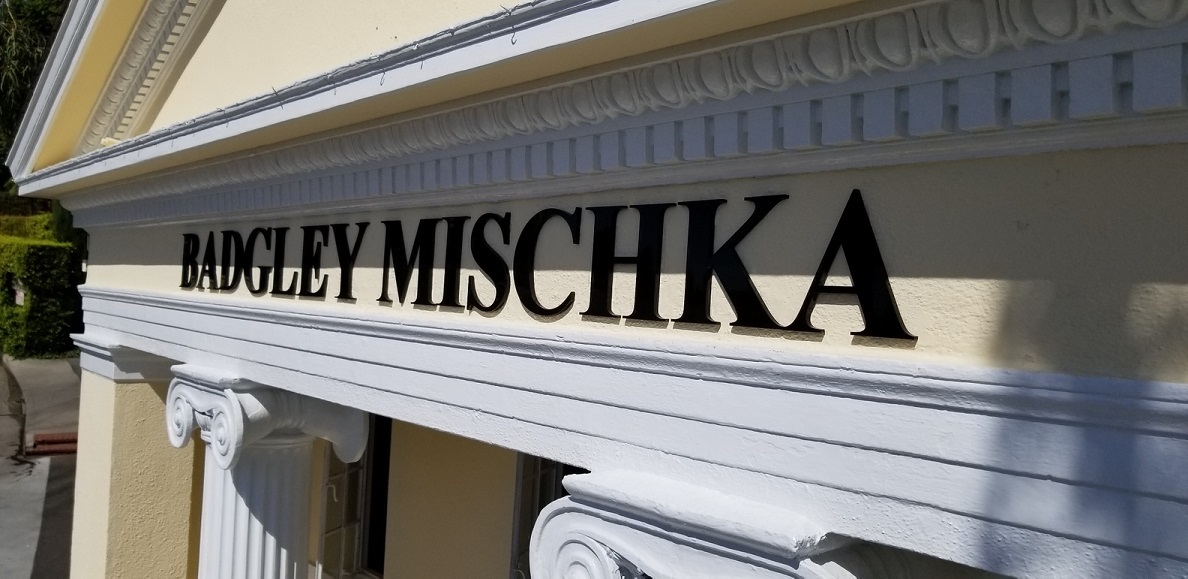 acrylic sign, building letters, exterior signs, fashion signage, retail signs, west hollywood, dimensional building lettering