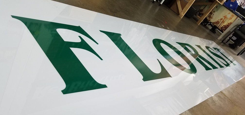 oversized signs, large signs, custom signage, lexan signs, lightbox, cut vinyl, lightbox insert, local business, encino, lightbox faces