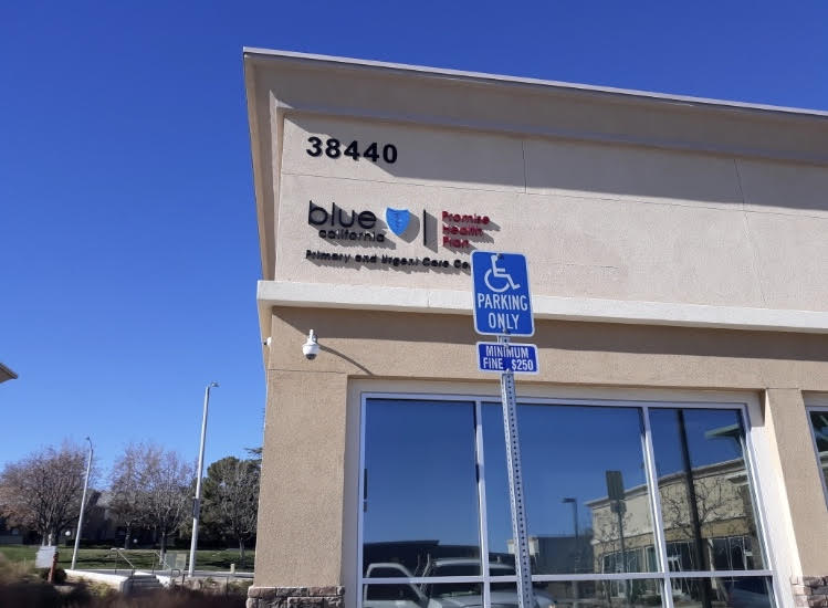 acrylic signs, exterior signage, building sign, re-branding, branding, sign makers, palmdale, dimensional lettering, logo sets
