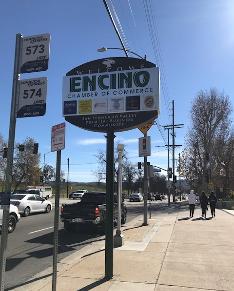 acrylic plaques, pylon sign, sign updates, sign repairs, sign removal, encino, plaques, outdoor sign, chamber of commerce