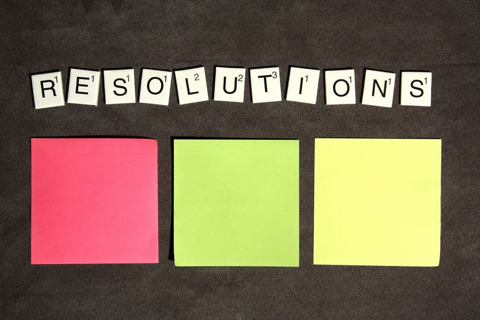 new year's resolutions, sign company, sign maker, tarzana, san fernando valley, resolutions, sign projects, indoor sign, outdoor sign