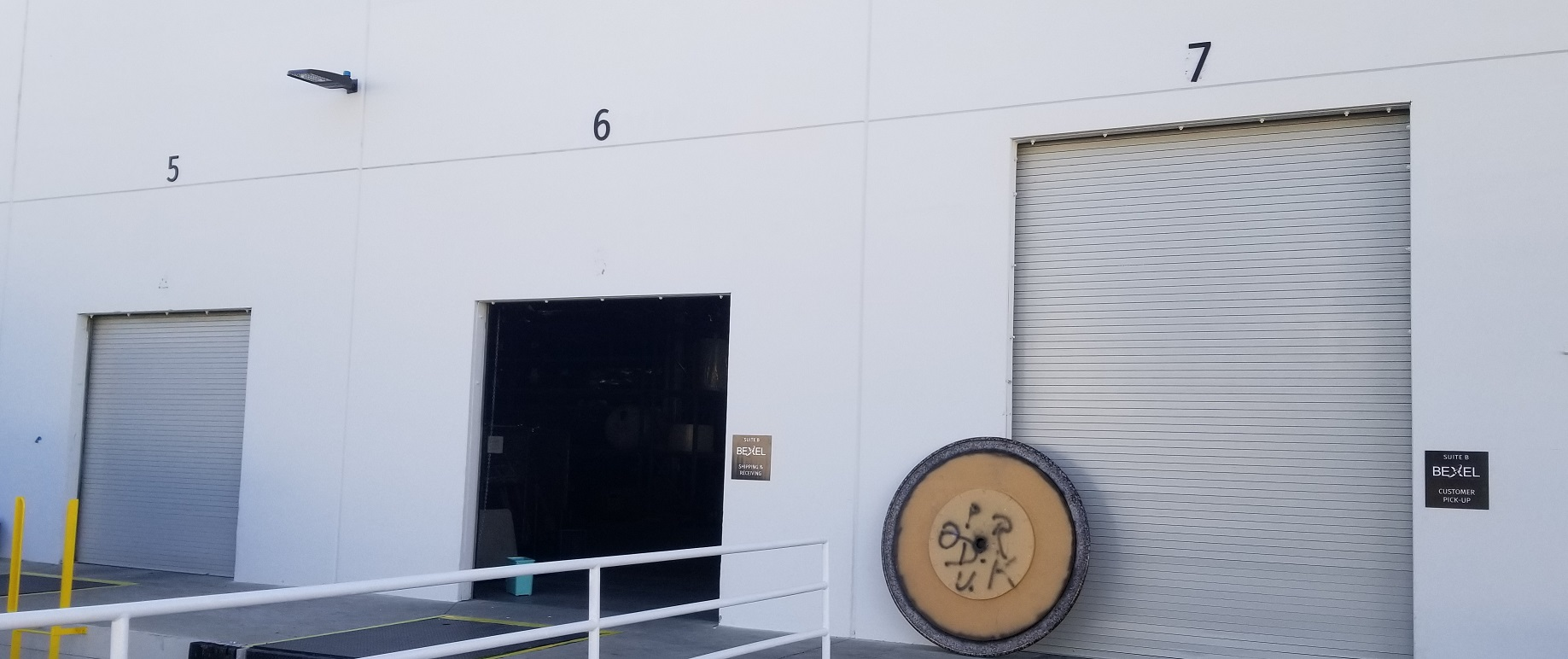 Door ID Signs, Laser Cut Acrylic, Roll Up Door Signs Los Angeles, Cargo Loading Sign Company, Bexel Sign San Fernando Valley, Sign Makers Los Angeles, Premium Sign Solutions San Fernando Valley.