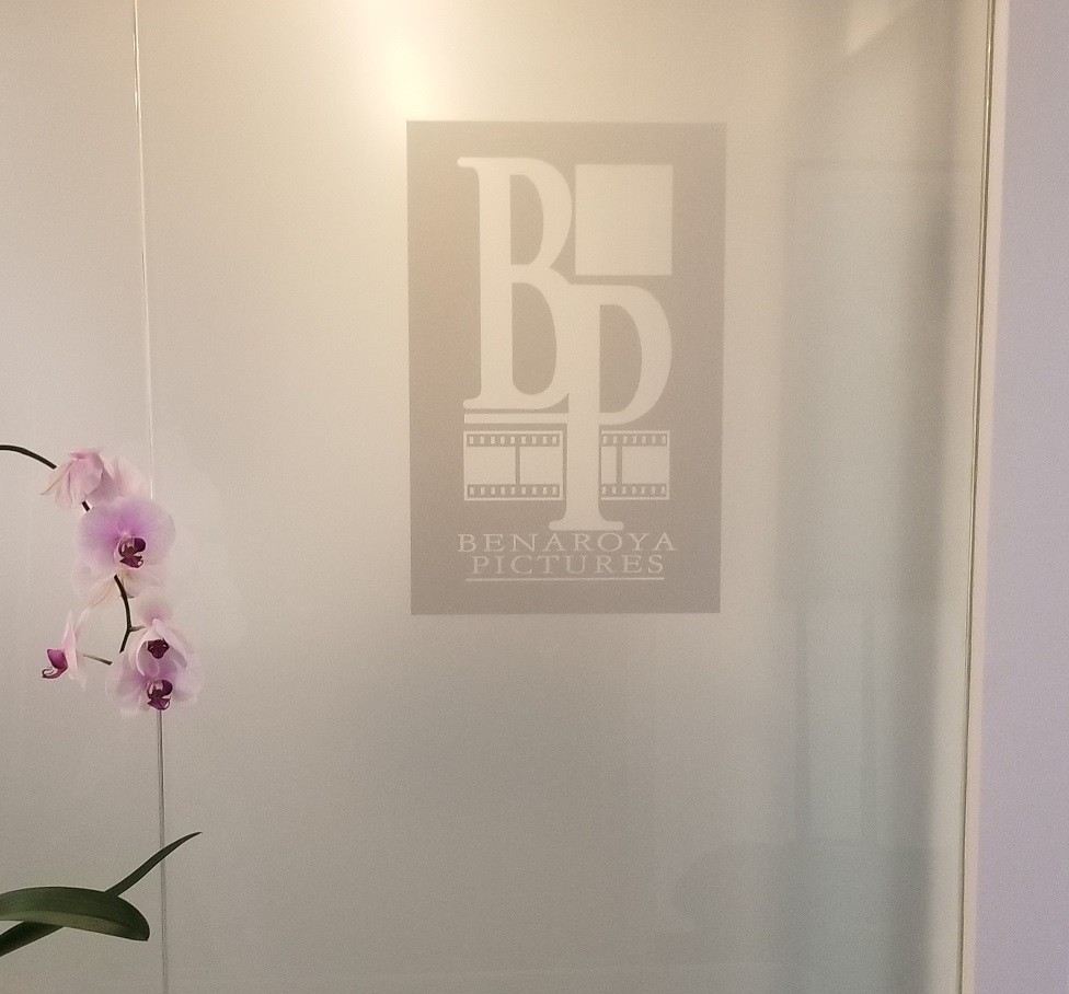 Etched Vinyl Window Graphics, Etched vinyl, etched glass, frosted vinyl window decals, custom etched glass vinyl, Premium Sign Solutions San Fernando Valley, Sign Makers Los Angeles, Sign Company San Fernando Valley,
