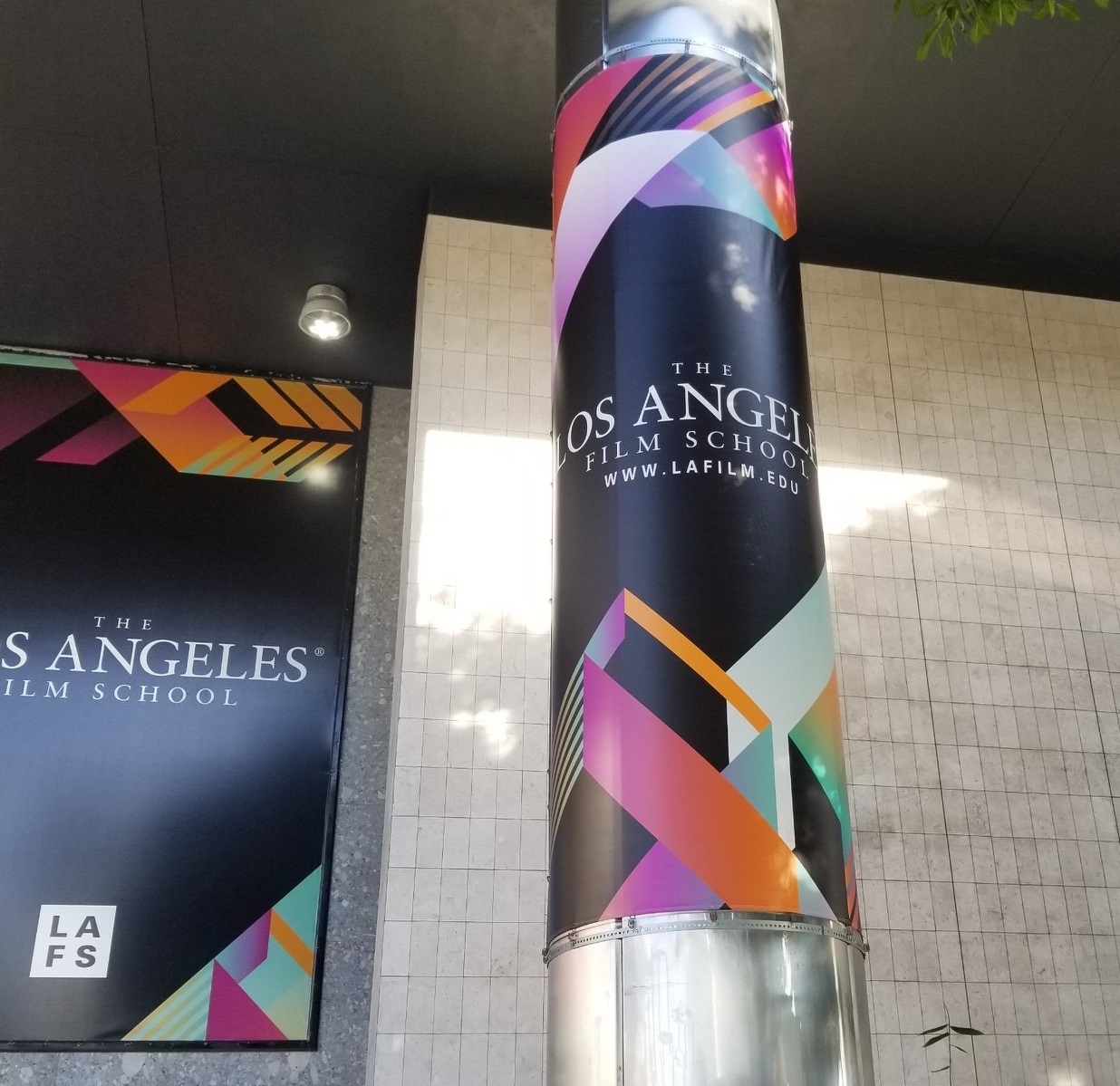 pole banner kit, Banners, Pole Banners, Sign Company Hollywood CA, LA Film School Banner Project, Hollywood Sign Company, Sign Makers Hollywood, Banner Company Hollywood CA, Premium Sign Solutions Los Angeles, Los Angeles Sign Company