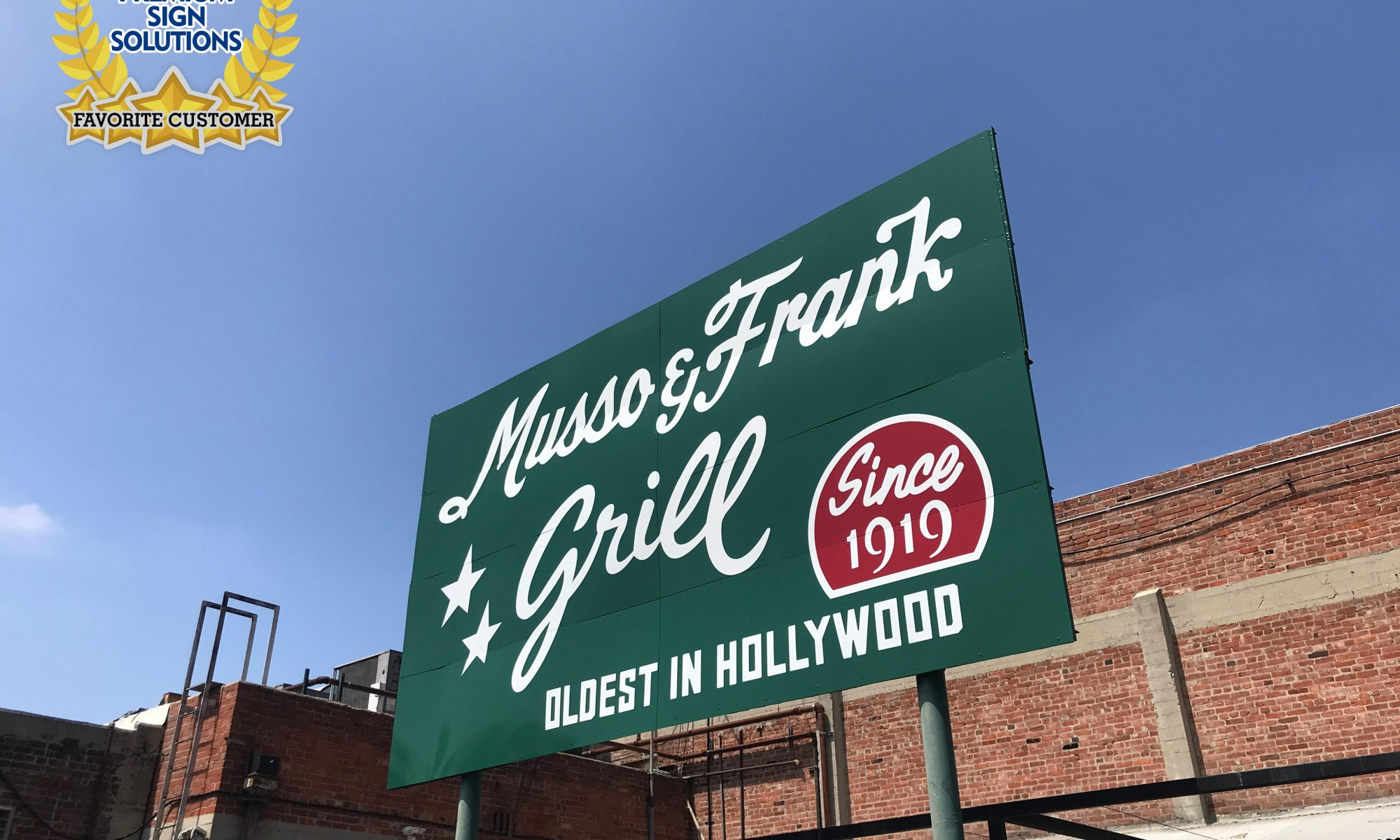 We definitely look forward to dining in Musso & Frank Grill when things get better!