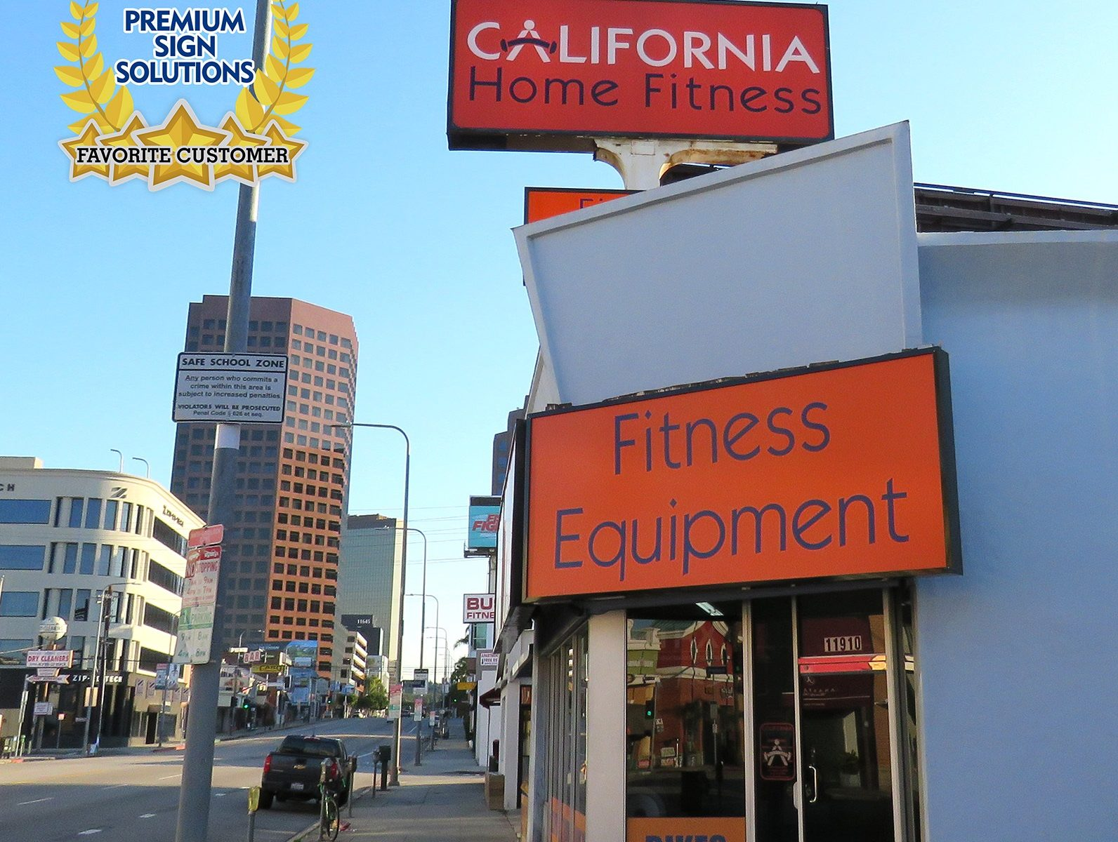 California Home Fitness is among our favorite clients. And we are happy to hear that they are in business and doing their part to help the community.
