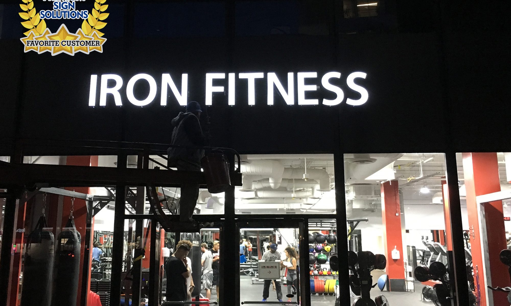 Iron Fitness is among our favorite clients. As their facilities are closed, they are offering their members several fitness options online.