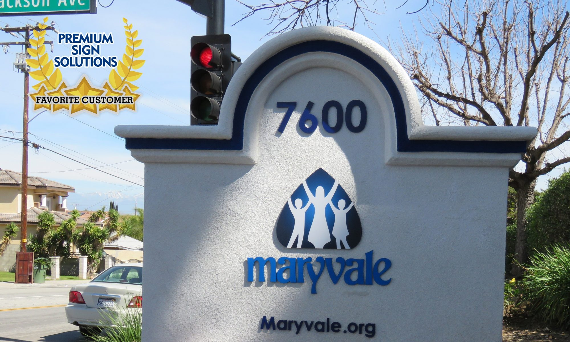 Maryvale is open and continues to offer essential childcare services. They are one of our favorite customers and we are proud to have made signs for them.