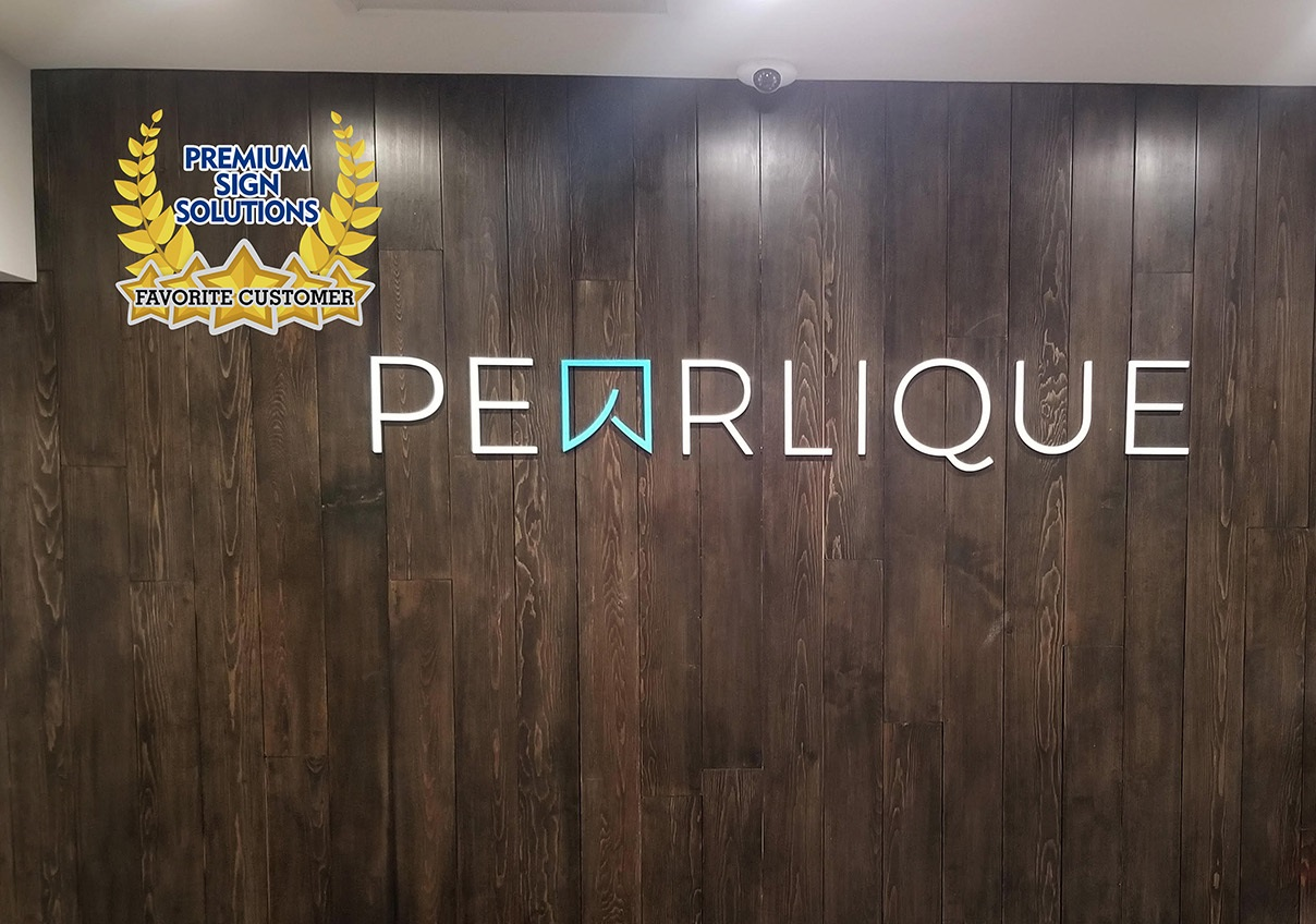 We did good lobby sign work for Pearlique, one of our favorite customers. Currently the Downtown Los Angeles dental clinicis offering video consultations.