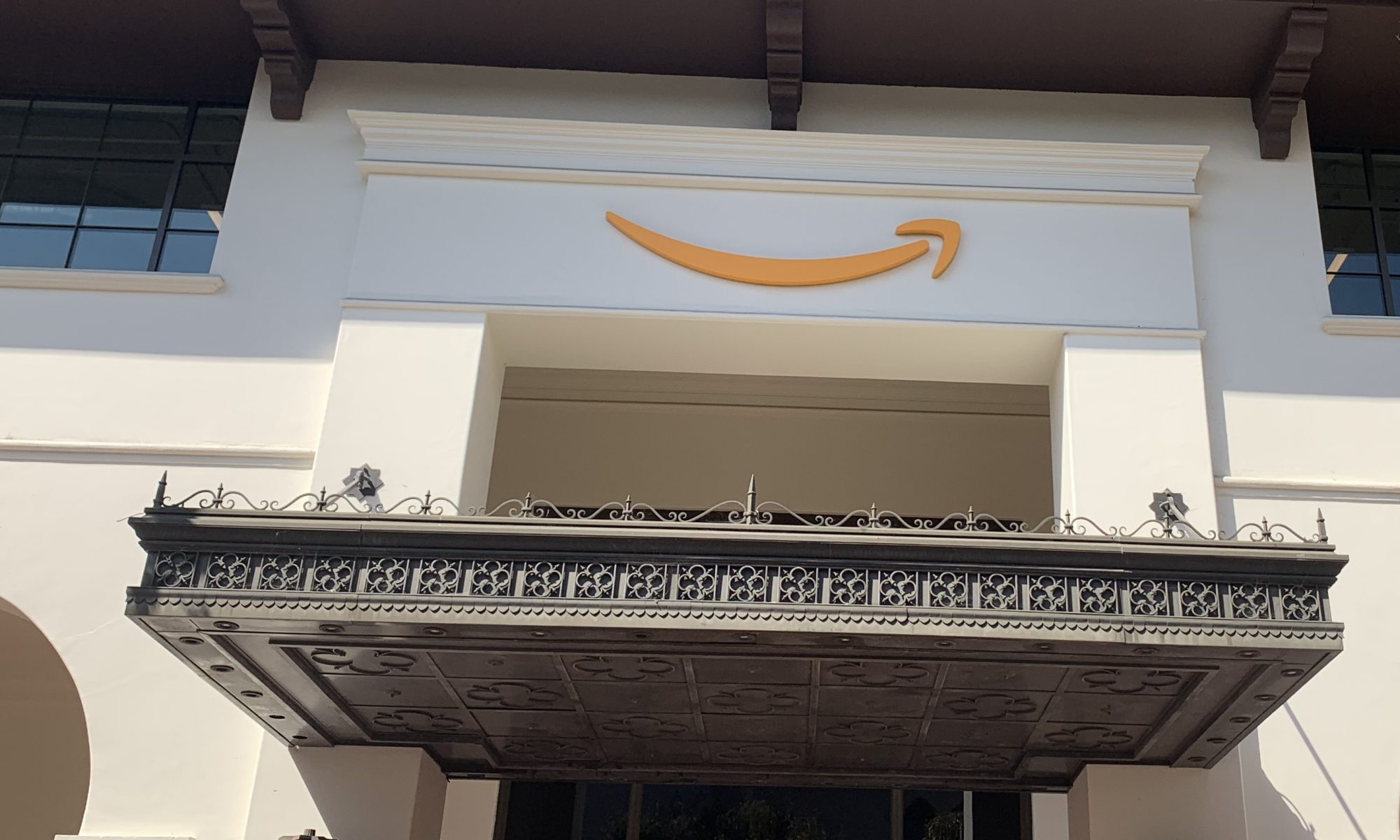 Want to go all out to impress customers? A channel letters sign package is just the thing. Like this one for Amazon in Santa Barbara!