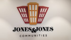 This is the acrylic conference room lobby sign we fabricated and installed in Jones and Jones' Malibu office conference room.