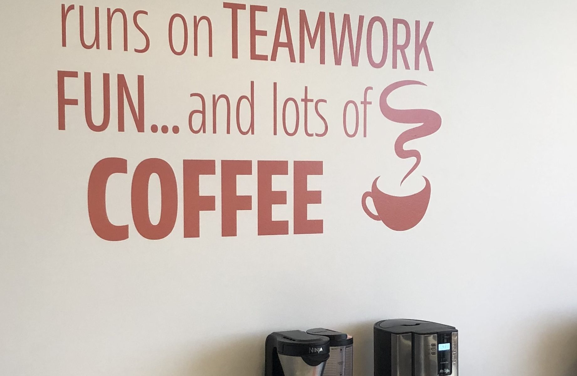 Throughout the Jones and Jones' Woodland Hills office, we fabricated and installed wall art lobby signs displaying what the brand offers to impress clients.