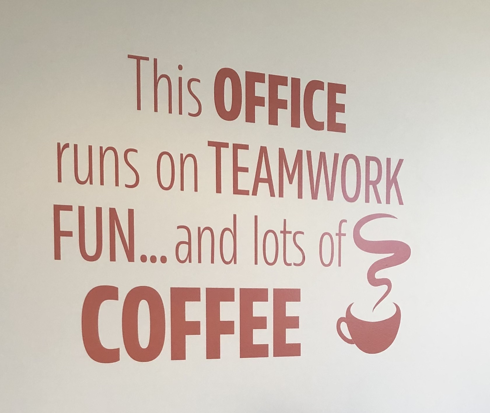 Highlight famous quotes, mission statements or company credos with inspirational quotes signs as part of your office sign package.